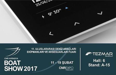 Istanbul Boat Show event invitation