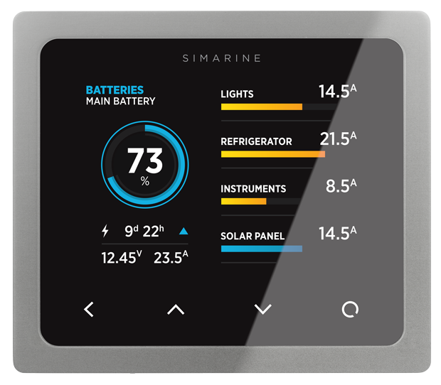 Rv Battery Monitoring Display : Pico battery monitor