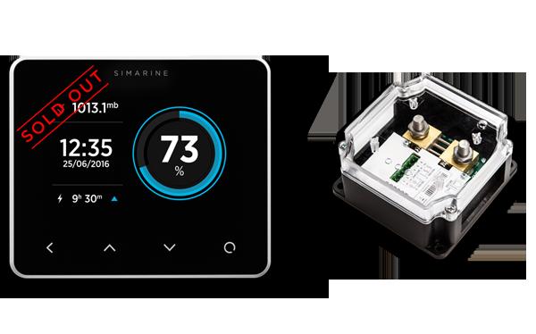 Marine Battery Monitoring System : Paketi smart marine battery monitor system simarine